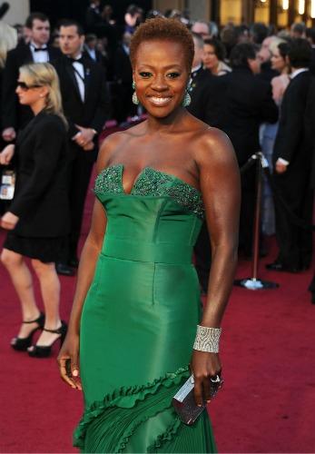 Viola Davis Oscars 500 Natural Hair Celebrities